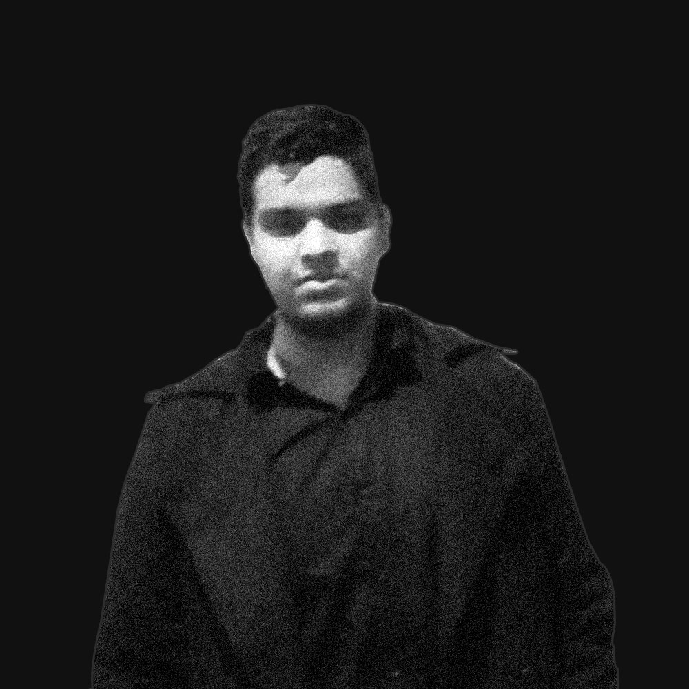 A photograph of Pratham Agarwal. He is an entrepreneur, writer and designer. He's interested in solving human problems.